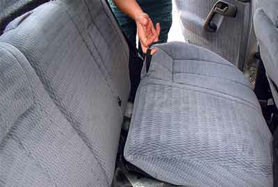 ваз 2111 инструкция задние сидения: